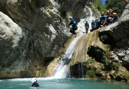 Canyon Maglia week-end canyoning Nice