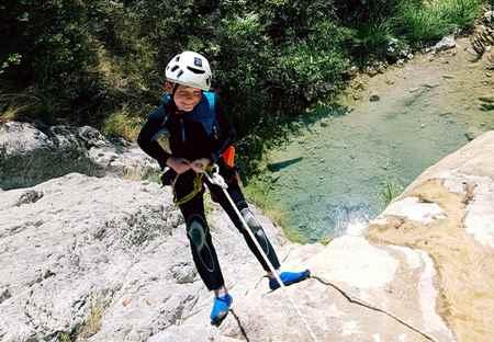 canyoning séjour 6 jours facile Nice paca