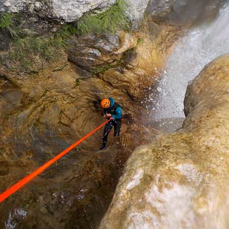rappelle sejour canyoning 1 semaine