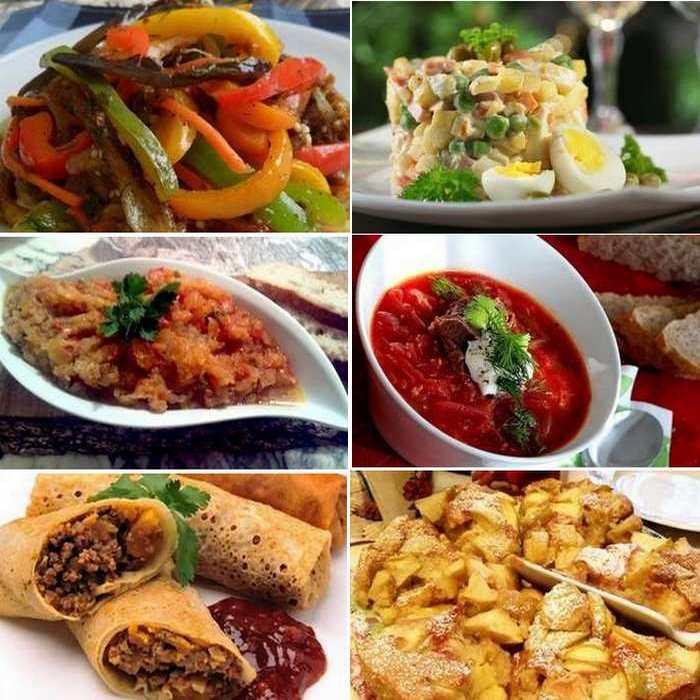 repas russe typique anniversaire gîte breil sur roya nice