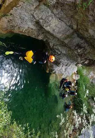 séjour canyoning 1 semaine Nice Alpes Maritimes
