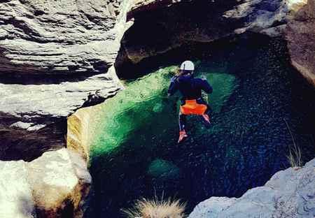 sejour canyoning 1 semaine Nice