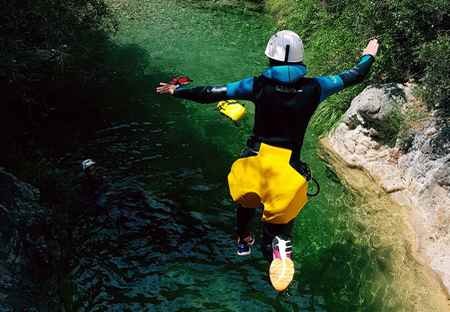 sejour canyoning Breil Nice Paca