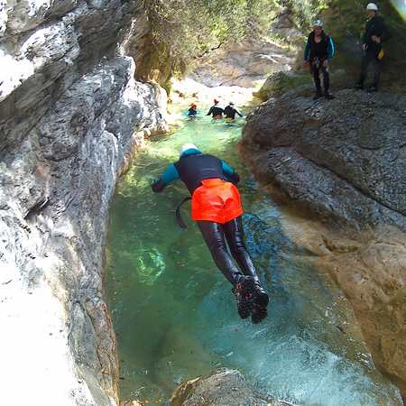 sejour canyoning difficile Nice