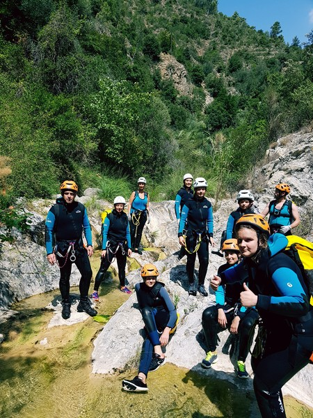 sejour canyoning facile paca