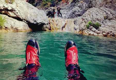week-end canyoning Nice Alpes Maritimes