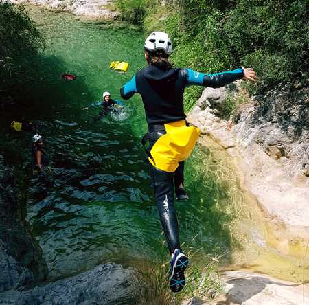 week end canyoning alpes maritimes
