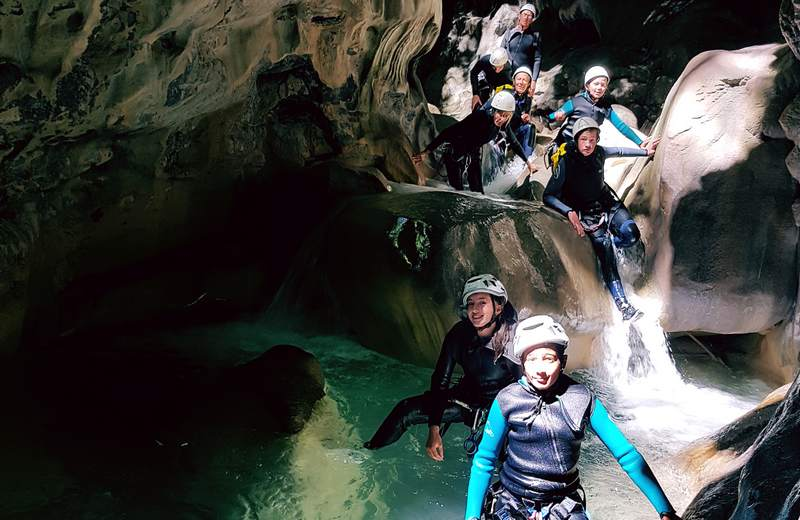 Canyoning 06 Famille
